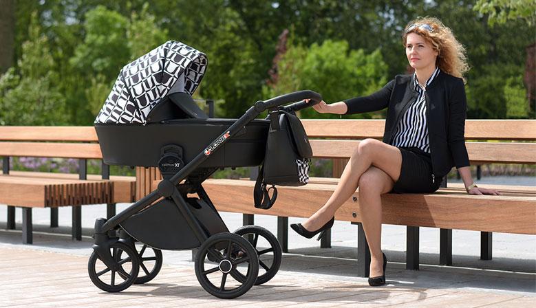 Nowoczesny, lekki wózek dziecięcy Lonek Emotion
