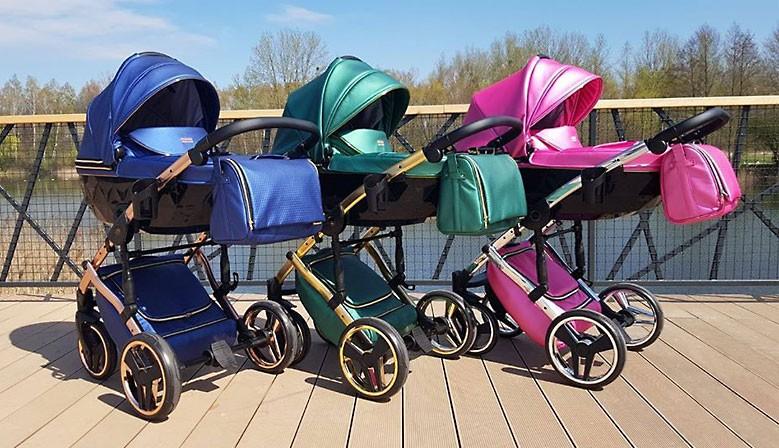 Nowoczesny wózek dzieciecy Junama Fluo