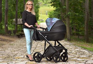 Nowoczesny wózek dziecięcy wielofunkcyjny Comfort dla twojego dziecka